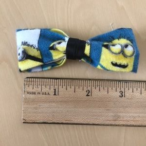 Small Minions Hair Bow